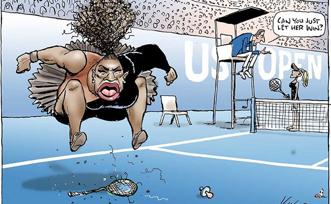 Serena Caricature2